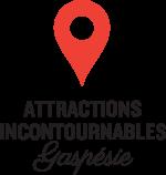 Attractions incontournables Gaspésie